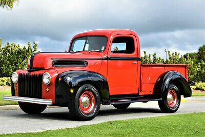1947 Ford F-100 400ci V8, Automatic, Power Steering & Brakes Amazing 1947 Ford F100 400ci Ford V8 Engine Automatic Power Steering & Brakes