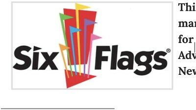 Four (4) Six Flags Tickets Single Day Holiday In The Park Expires 12/31/2019