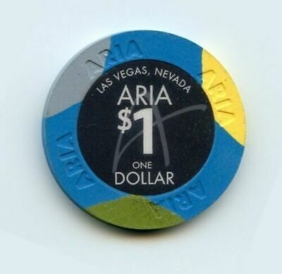 1.00 Chip from the Aria Casino in Las Vegas Nevada
