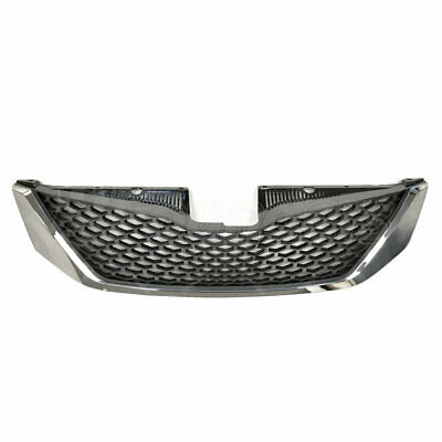 Honeycomb Chrome Front Bumper Upper Grille Assembly Fits 11-17 Toyota Sienna