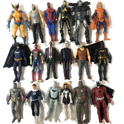 Random 3Pcs 3.75'' DC Comics Marvel Universe Legends Movies Figure Xmas Gift