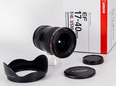 Canon EF 17-40 mm F/4.0 L USM, OVP, excellenter Zustand