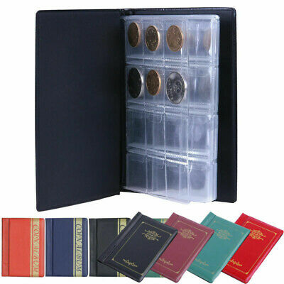 120 Album Coin Penny Money Storage Book Case Folder Holder Collection 3-Style