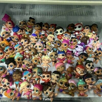 Random 20pcs LOL Surprise Doll Lil Sisters Boi Doll Color Change Xmas Gift Toys