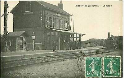 80.Conteville.la Gare.train