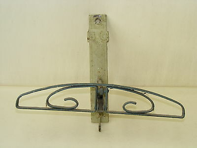 Beautiful Old Folding Wardrobe Hanger - Folding Hook Coat Hook Dress Fan
