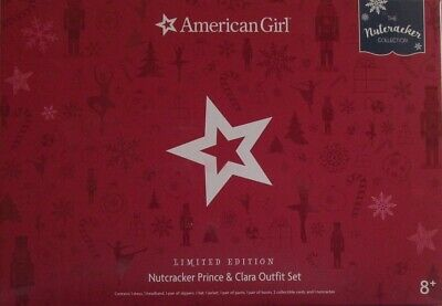 American Girl Nutcracker Prince & Clara Outfits - New in boxes Limited Edition