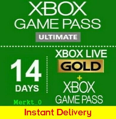 Xbox Game Pass Ultimate 14 Days + Xbox Live Gold Xbox One_PC / Instant Delivery