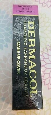 Dermacol High Cover Makeup Foundation Waterproof SPF30 (Authentic) NEW BOXED