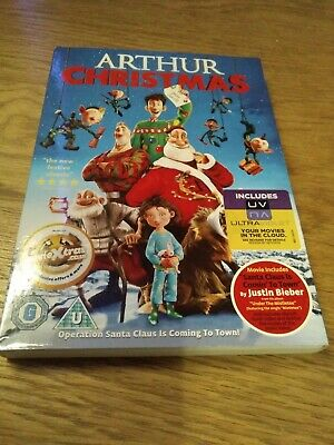 Arthur Christmas (DVD, 2012) James McAvoy. With slipcase