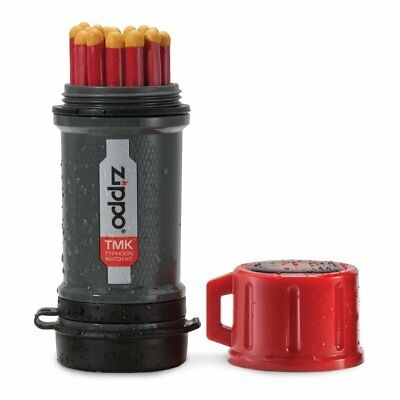 Zippo OUTDOOR Typhoon Match Kit Water Resistant Includes Strike Pads 40483 40495
