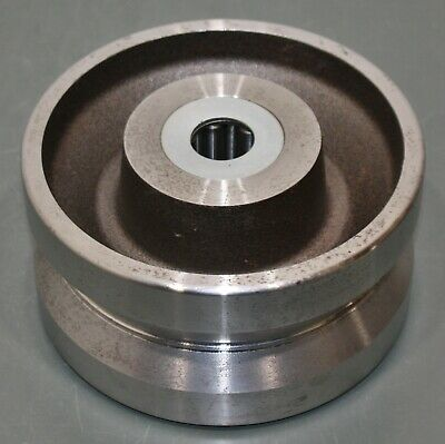 """Hamilton Caster V-Grooved Forged Steel Wheel W-840-FVH-1MC, 8"""" x 4"""", 6500Lb, 1"""""""