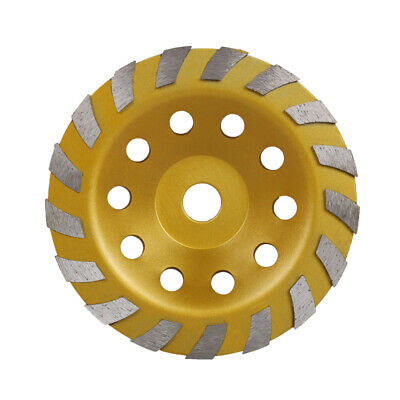 """7"""" 180mm Diamond Grinding Wheel Cup Grinder Disc Tool for Concrete Wall Ground"""