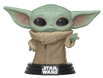 Funko Pop! Star Wars The Mandalorian Baby Yoda The Child Preorder W/Case