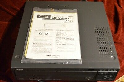Pioneer LD-V4400 Great Condition Laser Disc!