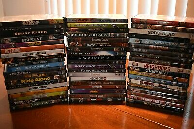 Used/New DVD,Blu-ray - Pick Your Movies - Buy 4 or more Get 25% off Each