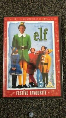 Elf (DVD, 2005) - Will Ferrell - Christmas Family Favourite - 2 x Disc