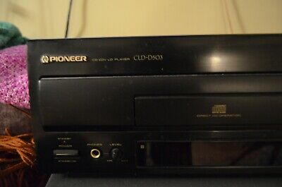 Pioneer CLD-D503 Laser Disc / CD Player WORKS GREAT!