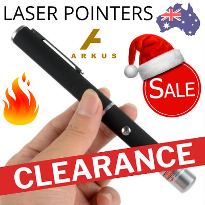 🔥 PREMIUM LASER POINTER 1mW LAZER Beam PEN Cat Toy BULK LOT WHOLESALE Xmas Sale