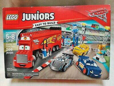 Lego Bricks Building Pieces Lego Juniors 10745 Disney Cars 3 Florida 500 Final Race Mcqueen Mack 266 Pcs Abidjanpress Com
