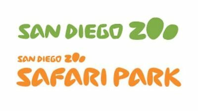 TWO (2) San Diego Zoo - OR - San Diego Safari Park Tickets