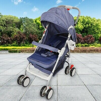 Baby Stroller Shock Portable High View Detachable Infant Fold Travel System