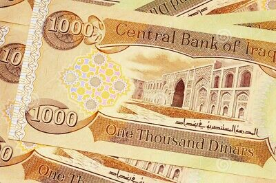 Limit 10 Notes Iraqi Dinar 1,000 New  1 X 1,000  New Uncirculated Collectable