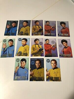 Dave and Buster's Star Trek 2 Limited Edition Foil/Nonfoil Card Lot of 13 Cards