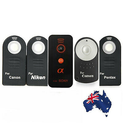 IR Wireless Infrared Shutter Release Remote Control For Canon Nikon Pentax Sony