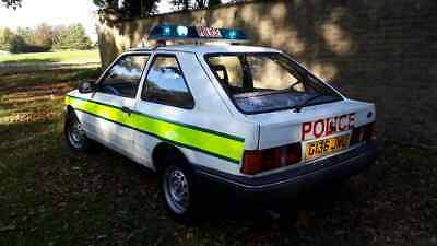 1990 Ford Escort Police car - Genuine