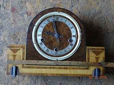 Vintage Mantel Clock, spares or repair.
