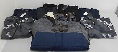 Job Lot Wholesale Bundle Brand New Mens Mixed Size Tops Coats Sweaters X 7 Items
