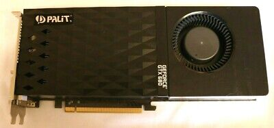NVidia GeForce PALIT GTX680 2Gb Graphics card.