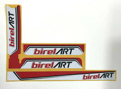 BIREL ART STYLE IAME X30 RADIATOR STICKER KIT - KARTING - JakeDesigns