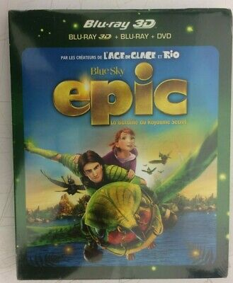 Epic Blu-Ray 3D Neuf Sous Blister