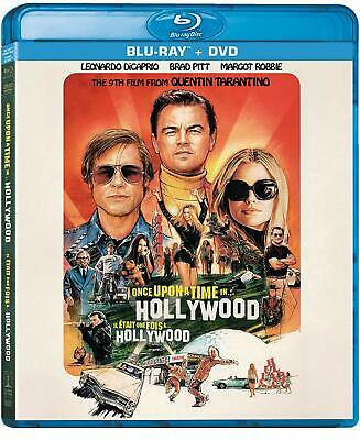 Once upon a Time in Hollywood BLU-RAY + DVD + SLIPCOVER PRE-SALE SHIPS 12/10