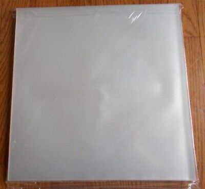 """(100) LP RECORD Outer Sleeves 3-MIL clear poly archival storage protect 12""""VINYL"""