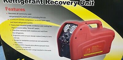 Refrigerant Recovery Unit Boxed Unused