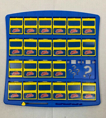 2017 Guess Who? Game By Hasbro Replacement Parts Free Shipping Blue Board