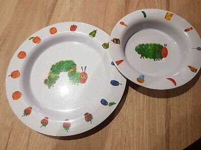 Childrens melamine plates - very hungry caterpillar