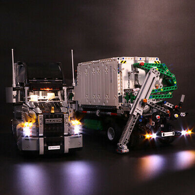 Vonado LED Light Building Block Modifie Kit for LEGO Truck Machinery Group 42078