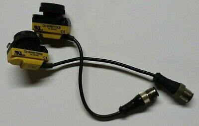 NEW BANNER  42497  S12SP6RQP  PHOTELECTRIC RECEIVER SENSOR 5 AVAILABLE