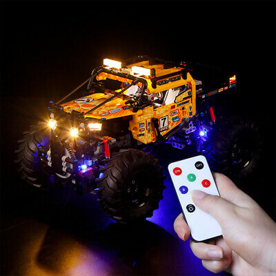 Vonado LED Light Building Block Kit for LEGO 4 Wheeled Off-road Vehicle 42099