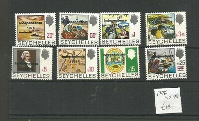 Seychelles Mint 1976 Independence Collection(Nov23B)