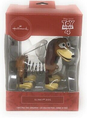 Hallmark Toy Story 4 Slinky Dog Christmas Ornament 2019 NEW
