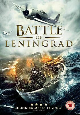 Battle of Leningrad [DVD] World War Two Movie Russian Gift Idea NEW