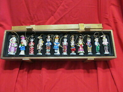Thomas Pacconi 2004 Children Of The World 12 Christmas Ornaments