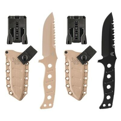 Benchmade Adamas Drop Point Fixed Blade - Various Sizes and Colors