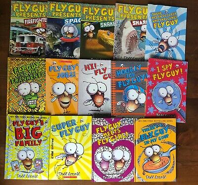 Lot 13 FLY GUY & Fly Guy Presents  Tedd Arnold Readers