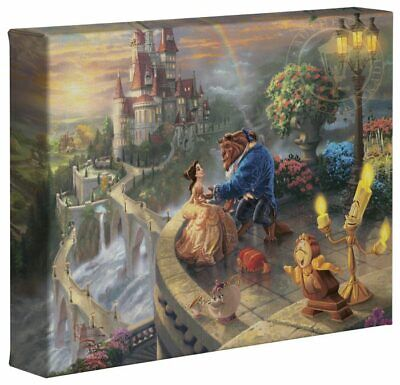Thomas Kinkade Studios Disney Princess 8x10 Gallery Wrapped Canvas (Choice of 4)